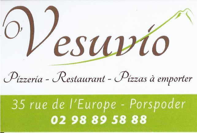Restaurant Pizzeria O'Vesuvio à Porspoder
