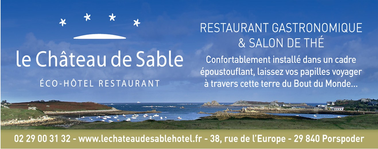 Restaurant Le château de sable à Porspoder