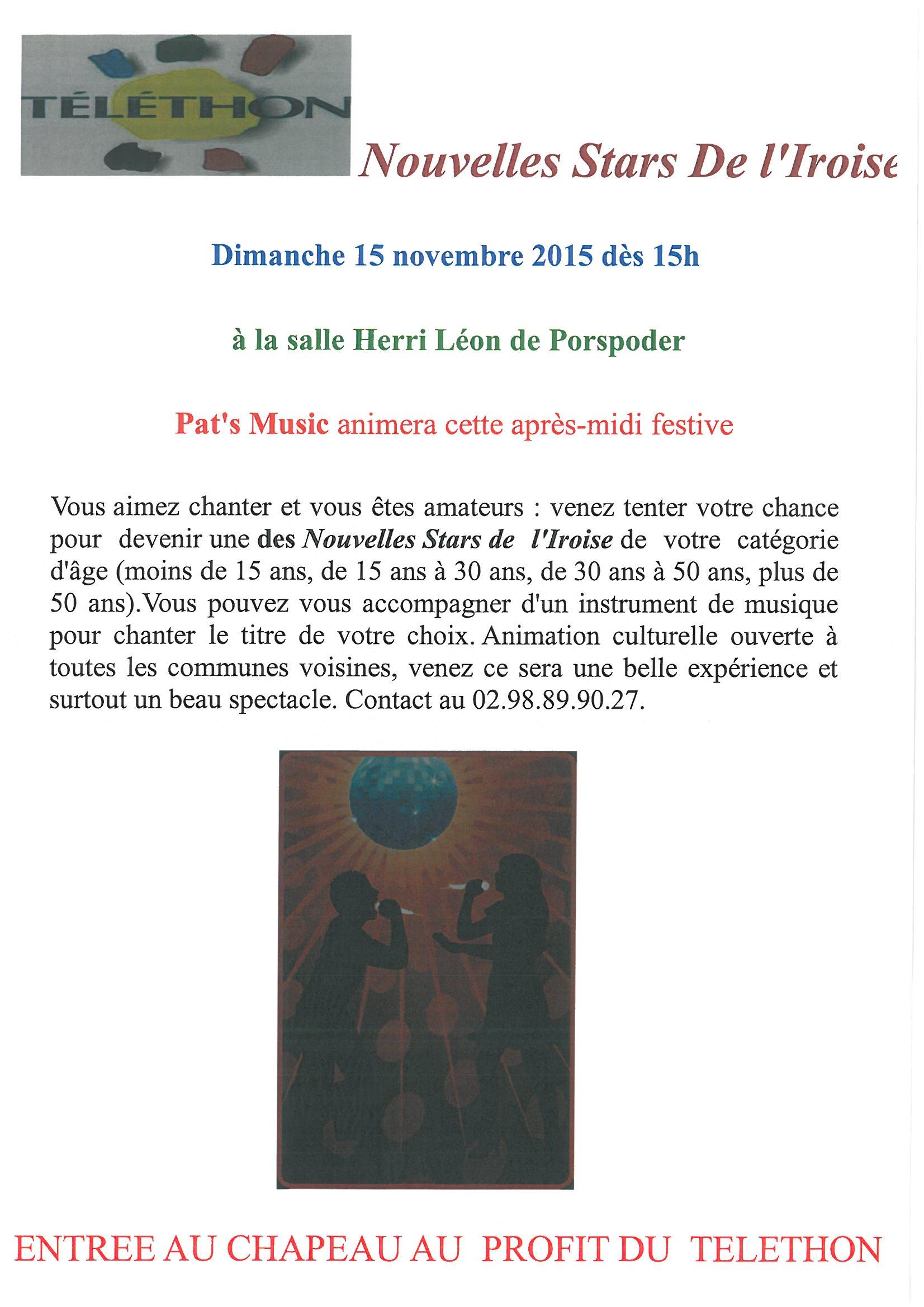 A La Recherche Des Nouvelles Stars De L U2019iroise  U2013 Au Profit